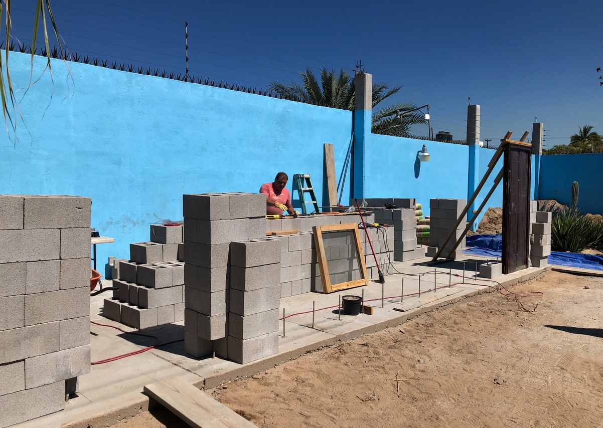 2019 Ministry Building Construction in La Paz, Mexico